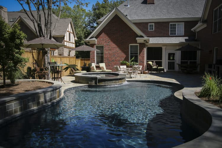Aquazone pools swimming pool design and construction in for Pool design nashville